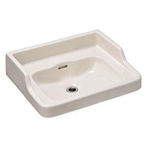 洗面器 ハイバック リネン 横水柱用