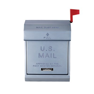 U,S, Mail box2 シルバー|ARTWORKSTUDIO