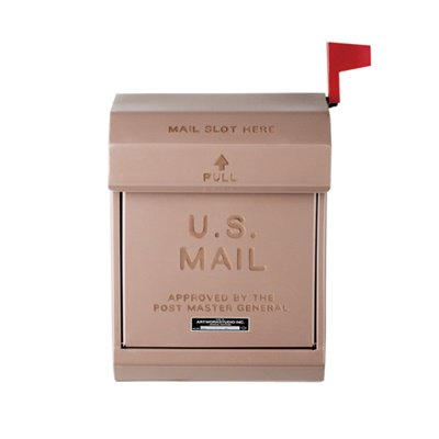 U,S, Mail box2 ベージュ|ARTWORKSTUDIO