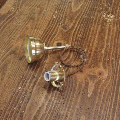 ツイストコード灯具(50cm) ゴールド色|sunyow