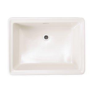 洗面器 Lレクタングル リネン