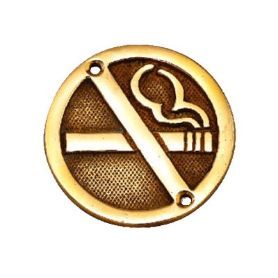 サイン NO SMOKING SYMBOL|GORIKI ISLAND