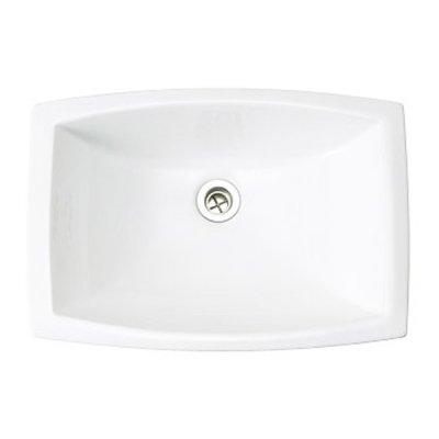 洗面器 Mレクタングル  リアリーホワイト