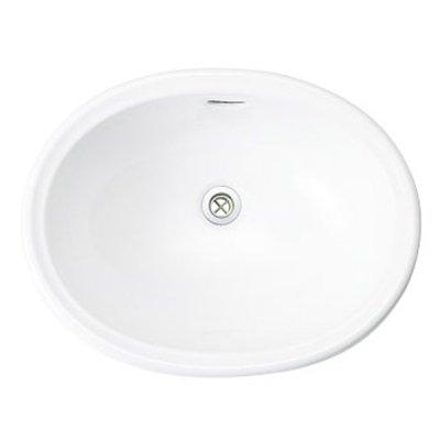 洗面器 Mオーバル ブランカ