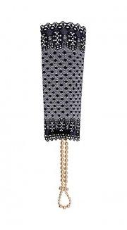 S-BR-G Sensation Lace Cuff Black