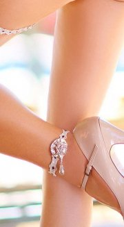 S-LX-LOVE CREME Anklet-Bracelet(50%オフ)<img class='new_mark_img2' src='https://img.shop-pro.jp/img/new/icons24.gif' style='border:none;display:inline;margin:0px;padding:0px;width:auto;' />