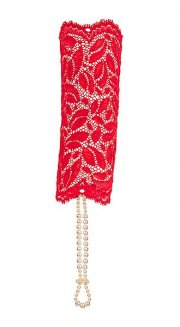 S-BR-Sensation Lace Cuff Red
