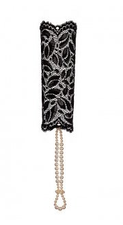 S-BR-Sensation Lace Cuff Black