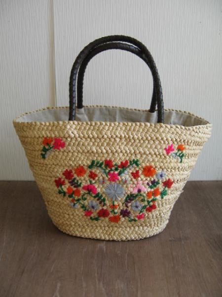 メイズ刺繍バッグ/フラワー