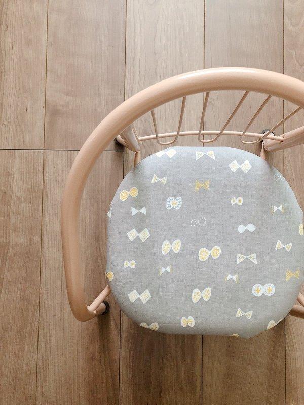 「リボン」豆椅子
