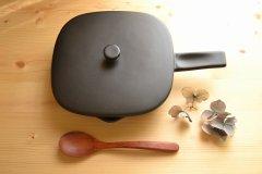 ツールズ BAKE PAN ベイクパン L 蓋付き ブラック 422029 熱々のまま食卓へ