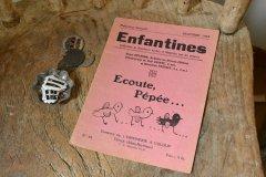 子供向けのアンティーク本 ブック 小冊子 洋書 古書 児童書 絵本 フランス 1900年代初期