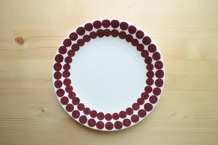 PIXEL プレート レッド メゾンブランシュ(maison blanche) お皿 テーブルウェア ナチュラル雑貨 北欧風 洋食器 日本製 新生活 引き出物 おうちカ…