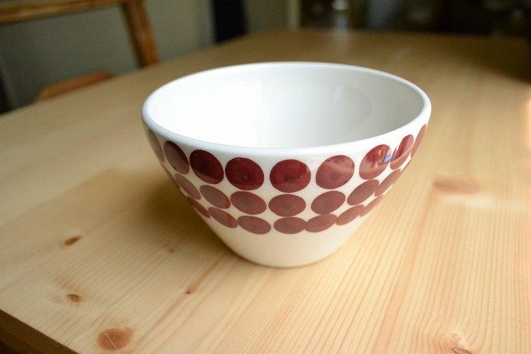 PIXEL ボウル レッド メゾンブランシュ(maison blanche) お皿 テーブルウェア ナチュラル雑貨 北欧風 洋食器 日本製 新生活 引き出物 おうちカ…