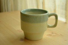 ル カフェ2(Le Cafe) マグ コーヒーカップ ソイグリーン メゾンブランシュ(maison blanche) 和食器 日本製 新生活 引き出物 おうちカフェ
