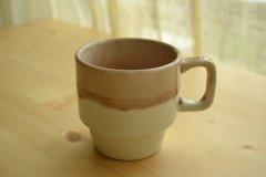 ル カフェ2(Le Cafe) マグ コーヒーカップ ローズ メゾンブランシュ(maison blanche) 和食器 日本製 新生活 引き出物 おうちカフェ