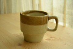 ル カフェ2(Le Cafe) マグ コーヒーカップ モカ メゾンブランシュ(maison blanche) 和食器 日本製 新生活 引き出物 おうちカフェ