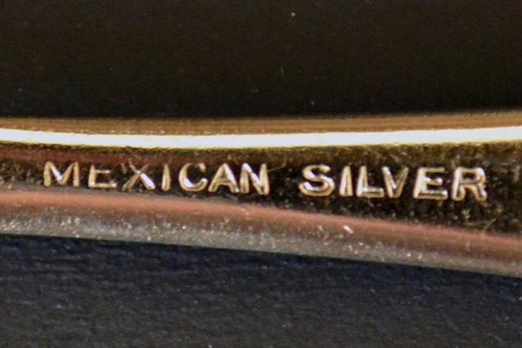 アンティークシルバー・銀器 メキシカンシルバー スプーンです。