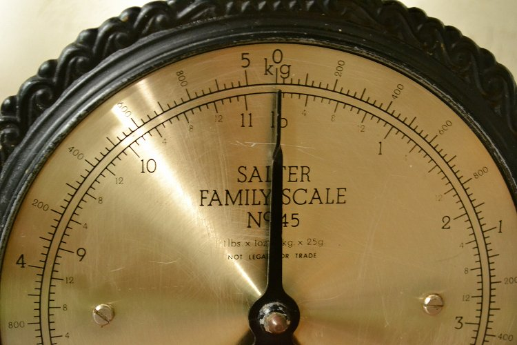 ビンテージ ソルター ファミリー スケール/イギリス/SALTER/NO.45です。