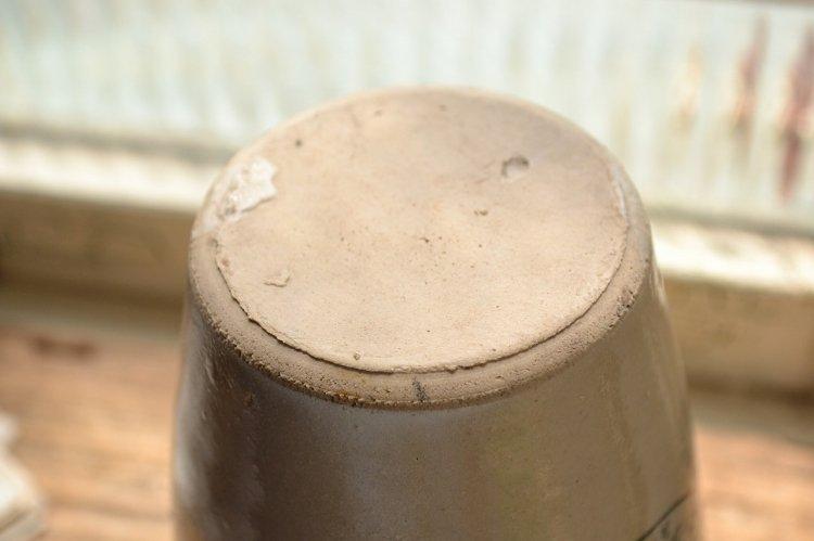 レアなイギリスの骨握りヴァイロール・ヴィロール・ビロールポット/希少/VIROL/大型です。