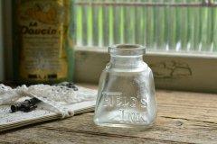 台形のインクボトル 透明 FIELD'S INK&GUM