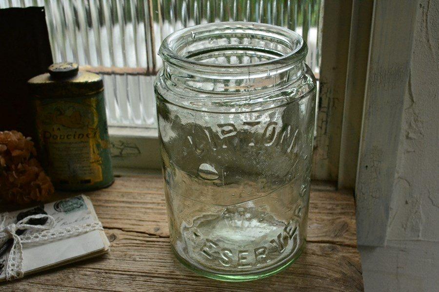 透明なリプトン フルーツジャー