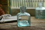 アンティークインクボトル 四角形