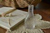 可愛い香水瓶 エンボスロゴ