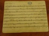 フランスの古い楽譜 26