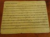 フランスの古い楽譜 25