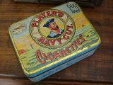 PLAYER'S NAVY CUT. CIGARETTES TIN