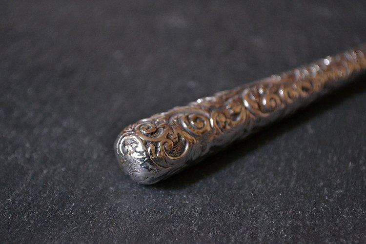 アンティーク スターリングシルバー(シルバー925 純銀)のルーペ | バーミンガム 1899年です。