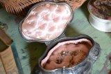アンティーク フレンチ ジュエリーボックス(宝石箱) 淡いピンクのシルクパッド