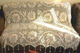 アンティークレース刺繍カバー ベッドカバーやソファーカバー、カーテン、テーブルクロスに
