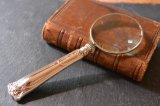 送料無料!アンティーク スターリングシルバー(シルバー925 純銀)のルーペ | シェフィールド 1921年
