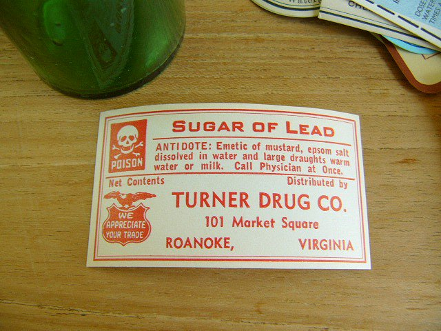 ポイズン(毒,劇薬)ボトルラベル 髑髏,ドクロ,SKULLマーク付き。お手持ちの薬瓶に