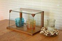 写真の商品も、ご一緒にいかがでしょうか?木とガラスのショーケース WOODガラスショーケースS WBX-9001S コレクションケース ガラスケース ディスプレイ 木製
