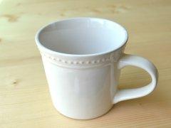 マグカップ ラ・レーヌ(La reine) メゾンブランシュ(maison blanche) 白い 食器 日本製 アンティーク調