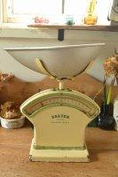 ソルター(SALTER)キッチンスケール/ビンテージ/イギリス/グリーントリム
