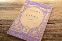 パープルの表紙に描かれた絵が可愛いフランスのアンティークブック・本(フランスの洋書、古書) ゴシック調