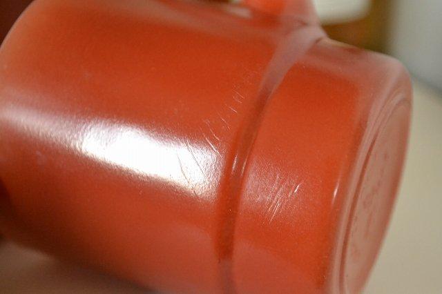 アメリカのファイヤーキング(Fire King)スタッキング マグカップ/ブラウンです。