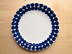 プレート ブルー メゾンブランシュ(maison blanche) お皿 テーブルウェア ナチュラル雑貨 北欧風 洋食器 日本製 新生活 引き出物 おうちカフェ