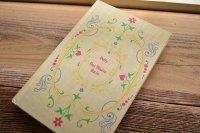 花柄の表紙が可愛いフランスのアンティークブック・本(フランスの洋書、古書) 1900年代