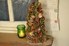 天然素材を使った クリスマスツリー ナチュール