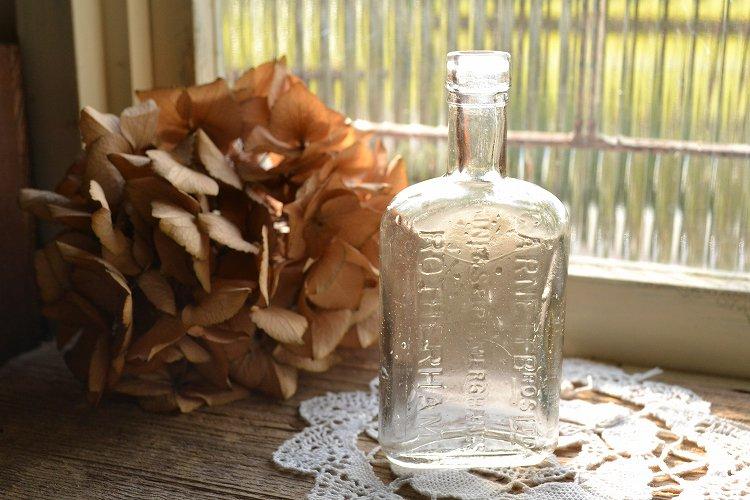 透明な薬瓶/メディシンボトル