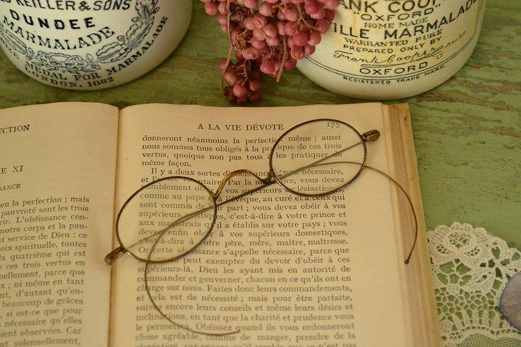 ヴィンテージめがね アメリカの古い眼鏡