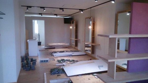 名取市杜のせきのした 美容室様開業支援サービスの工事開始!