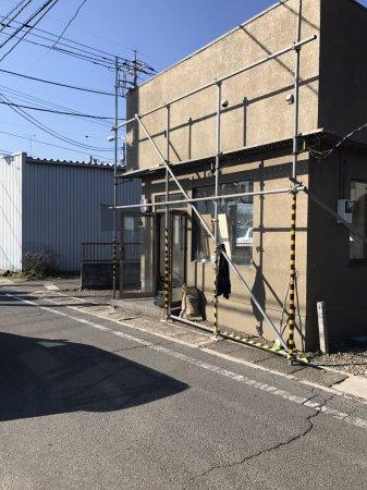 東京都あきる野市 理容室様開業支援サービスの工事開始!