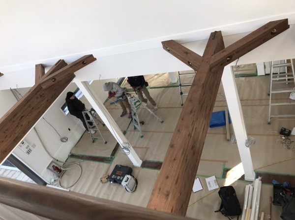 仙台市若林区荒井 美容室様開業支援サービスの工事開始!