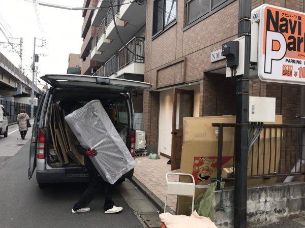 江戸川区中葛西 美容室様開業支援サービス 器具機材納品取付&看板工事!